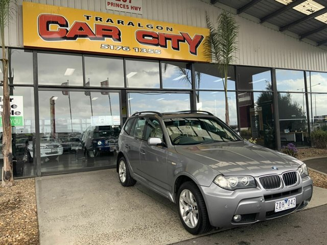 Used BMW X3 E83 3.0D Traralgon, 2006 BMW X3 E83 3.0D Silver 6 Speed Auto Steptronic Wagon