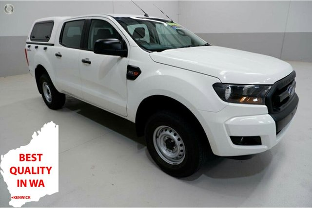 Used Ford Ranger PX MkII XL Hi-Rider Kenwick, 2016 Ford Ranger PX MkII XL Hi-Rider White 6 Speed Sports Automatic Utility