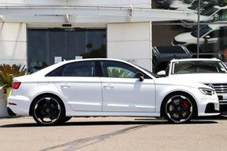 2018 Audi RS 3 8V MY18 S Tronic Quattro White 7 Speed Sports Automatic Dual Clutch Sedan.