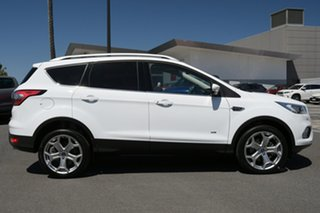 2019 Ford Escape ZG 2019.25MY Titanium White 6 Speed Sports Automatic Dual Clutch SUV.
