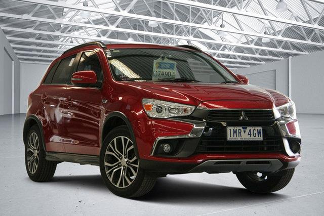 Used Mitsubishi ASX XC MY17 LS (2WD) Altona North, 2017 Mitsubishi ASX XC MY17 LS (2WD) Red Metallic Continuous Variable Wagon