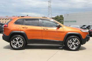2014 Jeep Cherokee KL Trailhawk (4x4) Orange 9 Speed Automatic Wagon