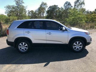 2011 Kia Sorento XM MY11 SI Silver 6 Speed Manual Wagon.