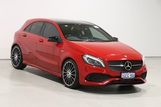2017 Mercedes-Benz A250 176 MY17 Sport Red 7 Speed Automatic Hatchback
