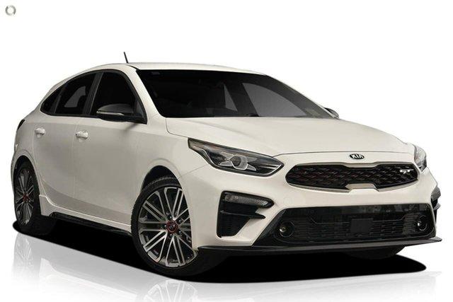 New Kia Cerato BD MY21 GT DCT Reynella, 2020 Kia Cerato BD MY21 GT DCT White 7 Speed Sports Automatic Dual Clutch Hatchback