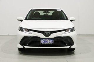 2019 Toyota Camry ASV70R MY19 Ascent White 6 Speed Automatic Sedan.