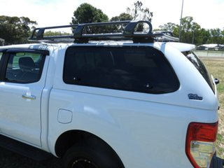 Ford Ranger XLT White 6 Speed Automatic Dual Cab