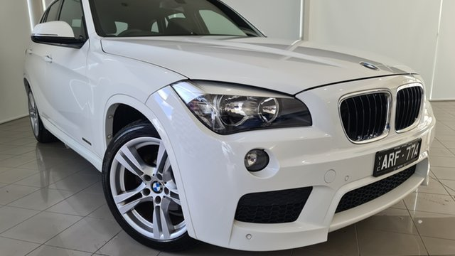 Used BMW X1 E84 LCI sDrive20i Steptronic Deer Park, 2012 BMW X1 E84 LCI sDrive20i Steptronic White 8 Speed Sports Automatic Wagon