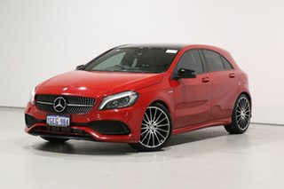 2017 Mercedes-Benz A250 176 MY17 Sport Red 7 Speed Automatic Hatchback.