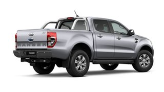 2020 Ford Ranger PX MkIII 2021.25MY XLT Aluminium Silver 6 Speed Manual Double Cab Pick Up