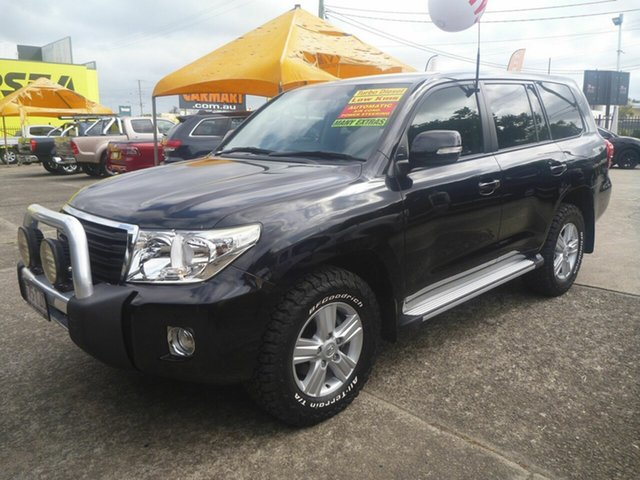 Used Toyota Landcruiser VDJ200R MY12 Altitude Morayfield, 2013 Toyota Landcruiser VDJ200R MY12 Altitude Black 6 Speed Automatic Wagon