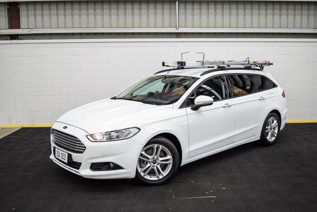 Used Ford Mondeo MD Ambiente TDCi Canning Vale, 2016 Ford Mondeo MD Ambiente TDCi White 6 Speed Automatic Wagon