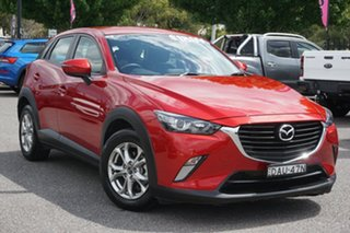2015 Mazda CX-3 DK2W7A Maxx SKYACTIV-Drive Red 6 Speed Sports Automatic Wagon.