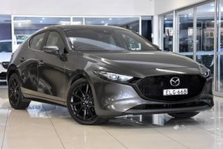 2020 Mazda 3 BP2HLA G25 SKYACTIV-Drive Astina Grey 6 Speed Sports Automatic Hatchback.