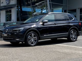 2020 Volkswagen Tiguan 5N MY20 162TSI Highline DSG 4MOTION Allspace Black 7 Speed.