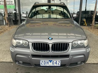 2008 BMW X3 E83 MY07 2.0D Silver 6 Speed Auto Steptronic Wagon.