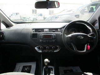 2012 Kia Rio S Red Automatic Hatchback