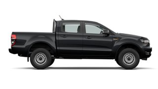 2021 Ford Ranger PX MkIII 2021.25MY XL Shadow Black 6 Speed Sports Automatic Double Cab Pick Up