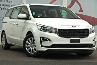 2018 Kia Carnival YP MY18 S White 6 Speed Sports Automatic Wagon.