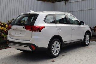 2020 Mitsubishi Outlander ZL MY20 ES AWD Starlight Black 6 Speed Constant Variable Wagon