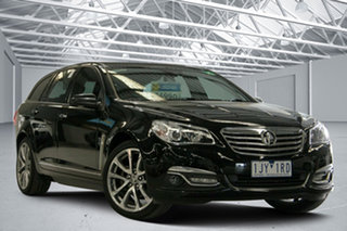 2017 Holden Calais VF II V Black 6 Speed Automatic Sportswagon.