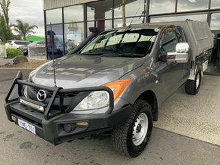 2012 Mazda BT-50 XT (4x4) Grey 6 Speed Manual Freestyle Cab Chassis