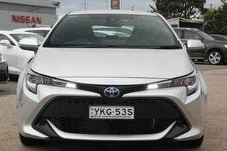 2020 Toyota Corolla ZWE211R Ascent Sport Hybrid Silver Continuous Variable Hatchback