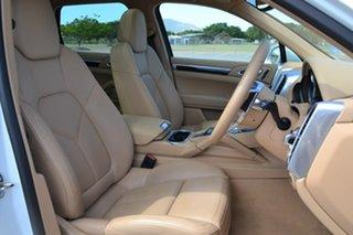 2016 Porsche Cayenne 92A MY17 Diesel Tiptronic Platinum Edition White 8 Speed Sports Automatic Wagon