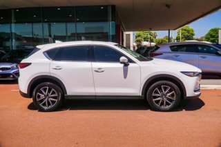 2019 Mazda CX-5 KF4WLA GT SKYACTIV-Drive i-ACTIV AWD White 6 Speed Sports Automatic Wagon