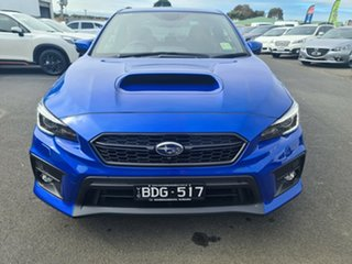 2018 Subaru WRX V1 MY19 Premium AWD Blue 6 Speed Manual Sedan