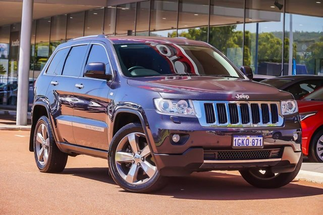 Used Jeep Grand Cherokee WK MY2013 Limited Gosnells, 2013 Jeep Grand Cherokee WK MY2013 Limited Black 5 Speed Sports Automatic Wagon