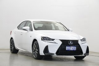2017 Lexus IS GSE31R IS350 F Sport White 8 Speed Sports Automatic Sedan