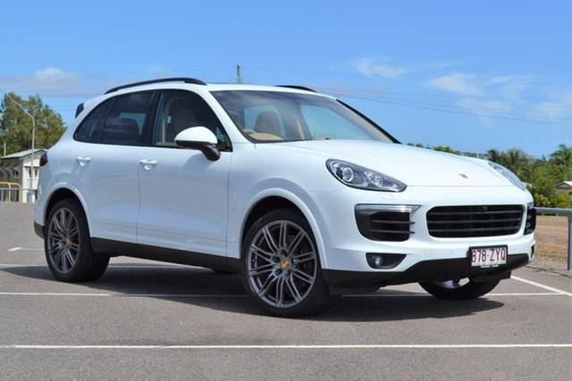 Used Porsche Cayenne 92A MY17 Diesel Tiptronic Platinum Edition Mundingburra, 2016 Porsche Cayenne 92A MY17 Diesel Tiptronic Platinum Edition White 8 Speed Sports Automatic Wagon
