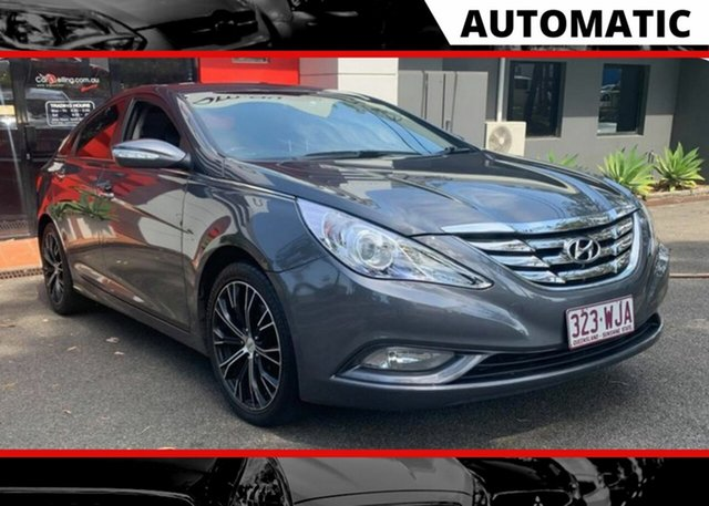 Used Hyundai i45 YF MY11 Active Ashmore, 2012 Hyundai i45 YF MY11 Active Grey 6 Speed Sports Automatic Sedan