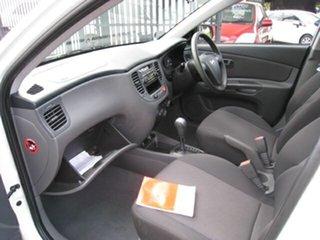 2008 Kia Rio JB LX White 4 Speed Automatic Hatchback