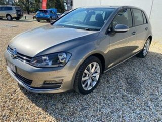 2016 Volkswagen Golf AU MY16 110 TDI Highline 6 Speed Direct Shift Hatchback.