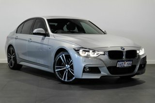 2017 BMW 3 Series F30 LCI 330i M Sport Silver 8 Speed Sports Automatic Sedan.