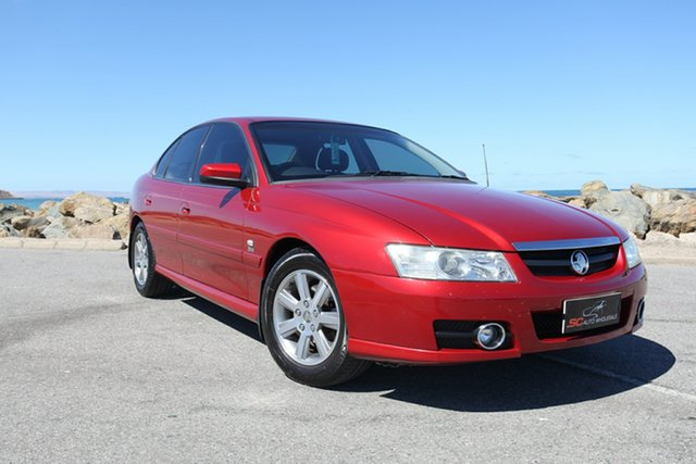 Used Holden Berlina VZ Lonsdale, 2005 Holden Berlina VZ Red 4 Speed Automatic Sedan