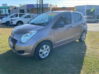 2011 Suzuki Alto GF GL Gold 5 Speed Manual Hatchback