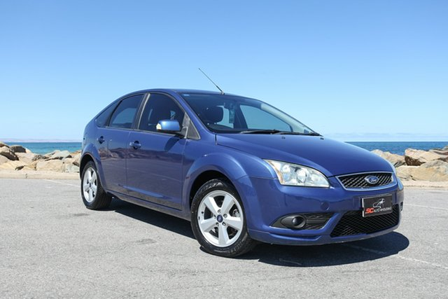 Used Ford Focus LT TDCi Lonsdale, 2008 Ford Focus LT TDCi Blue 6 Speed Manual Hatchback