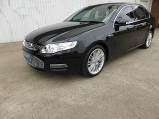 2013 Ford Falcon FG MkII G6E EcoLPi  Black Mica Metallic 6 Speed Sports Automatic Sedan