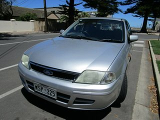 2002 Ford Laser KQ GLXi Silver 4 Speed Automatic Hatchback