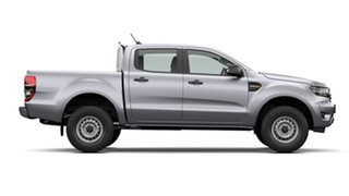2020 Ford Ranger PX MkIII 2021.25MY XL Aluminium Silver 6 Speed Sports Automatic Double Cab Pick Up