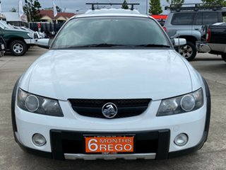 2004 Holden Crewman VY II Cross 8 White 4 Speed Automatic Utility
