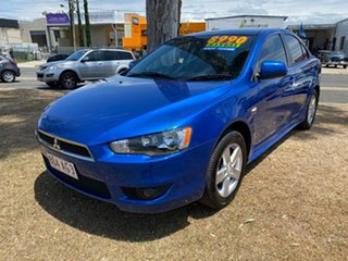 2009 Mitsubishi Lancer CJ MY09 VR Blue 5 Speed Manual Sedan.