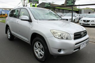 2007 Toyota RAV4 ACA33R MY08 CV Silver 4 Speed Automatic Wagon.