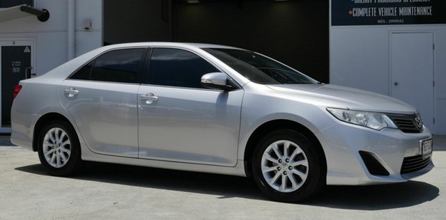 Used Toyota Camry ASV50R Altise Capalaba, 2012 Toyota Camry ASV50R Altise Silver 6 Speed Sports Automatic Sedan
