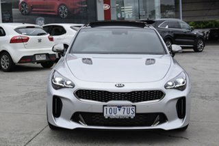 2018 Kia Stinger CK MY19 GT Fastback Silver 8 Speed Sports Automatic Sedan.