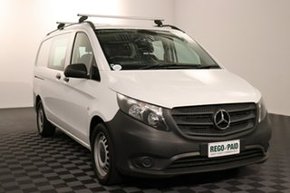 2017 Mercedes-Benz Vito 447 119BlueTEC Crew Cab MWB 7G-Tronic + White 7 speed Automatic Van.