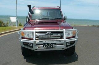 2014 Toyota Landcruiser VDJ76R MY13 GXL Red 5 Speed Manual Wagon.